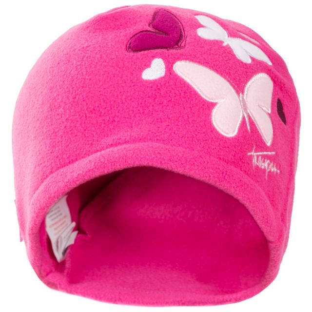 Flooty Kids' Fleece Beanie Hat in Pink