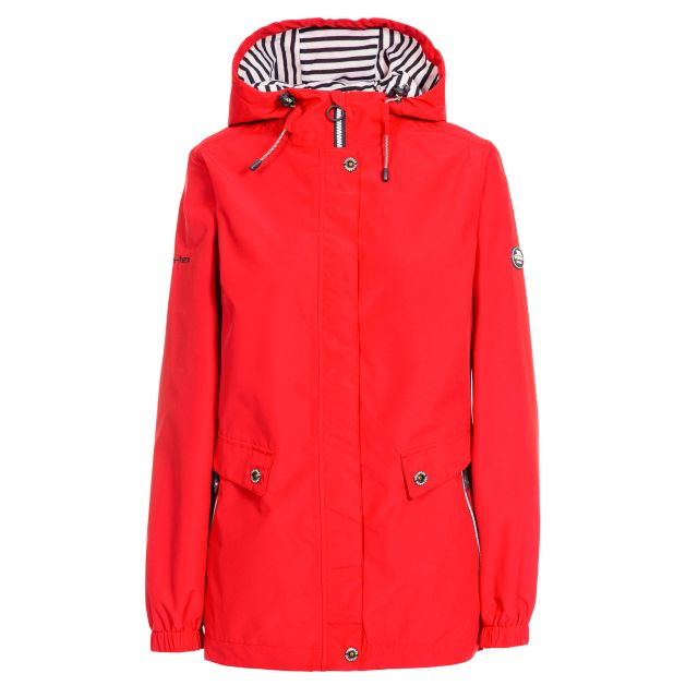 Flourish Women's Waterproof Jacket - RED