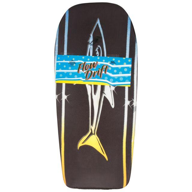"""Trespass 42"""" Bodyboard Flowdrift Black Shark Print"""