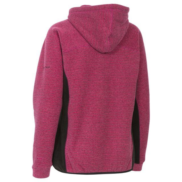 Floxy Women's Fleece Hoodie in Pink