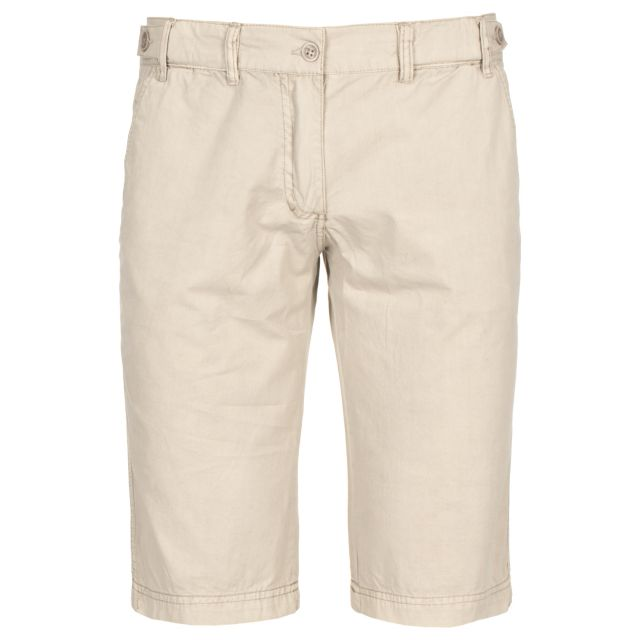 FOSSIL Womens Travel Shorts in Beige