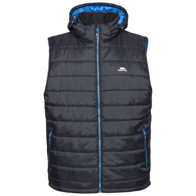 Franklyn Men's Hooded Gilet in Black