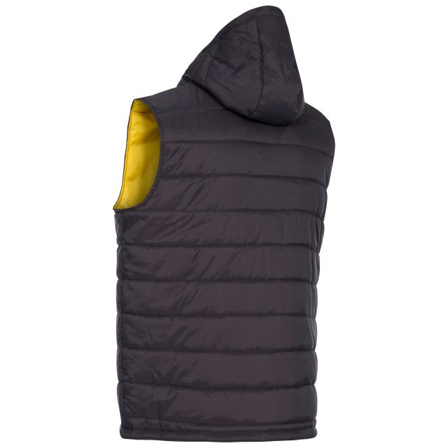Franklyn Men's Hooded Gilet in Grey