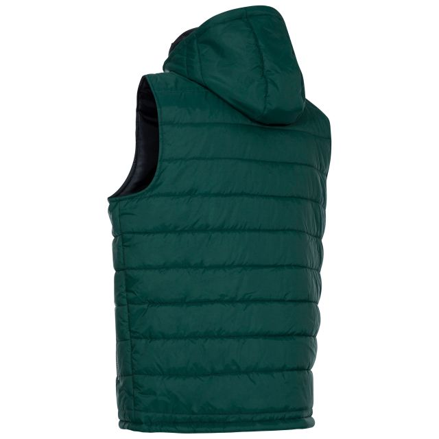 Franklyn Men's Hooded Gilet in Green