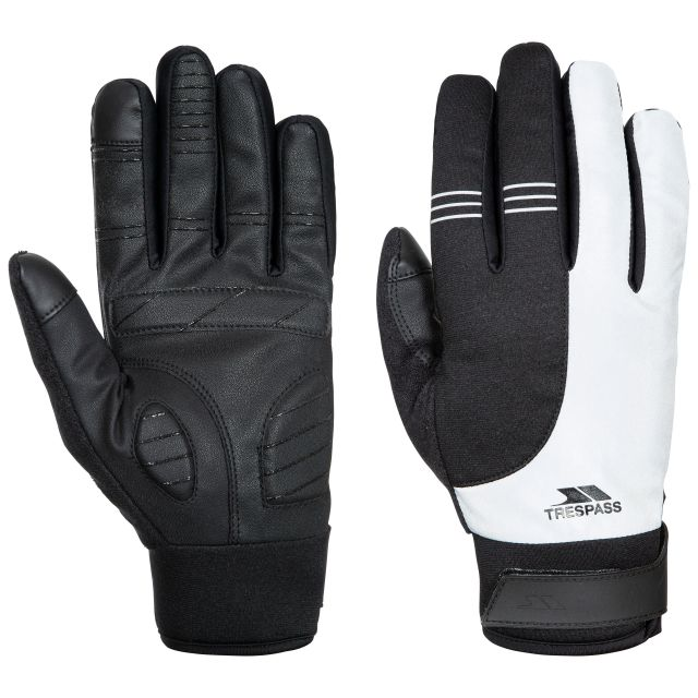 Franko Adults' Touchscreen Gloves in Light Grey