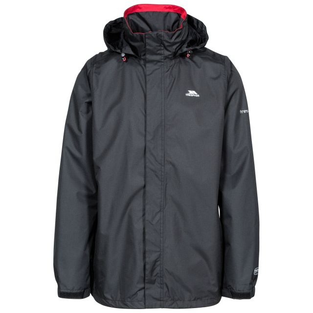 Fraser II Men's Waterproof Jacket in Black