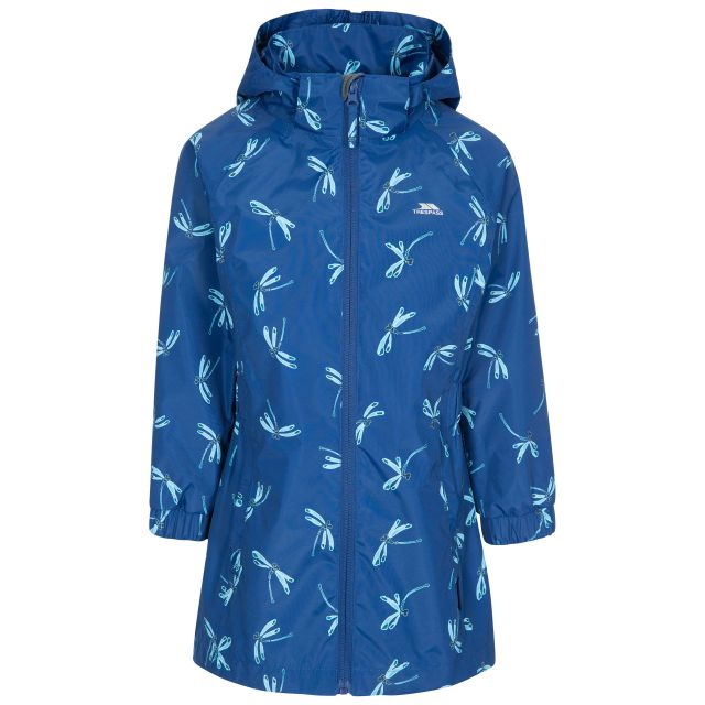 Frejja Kids' Painted Waterproof Jacket in Blue
