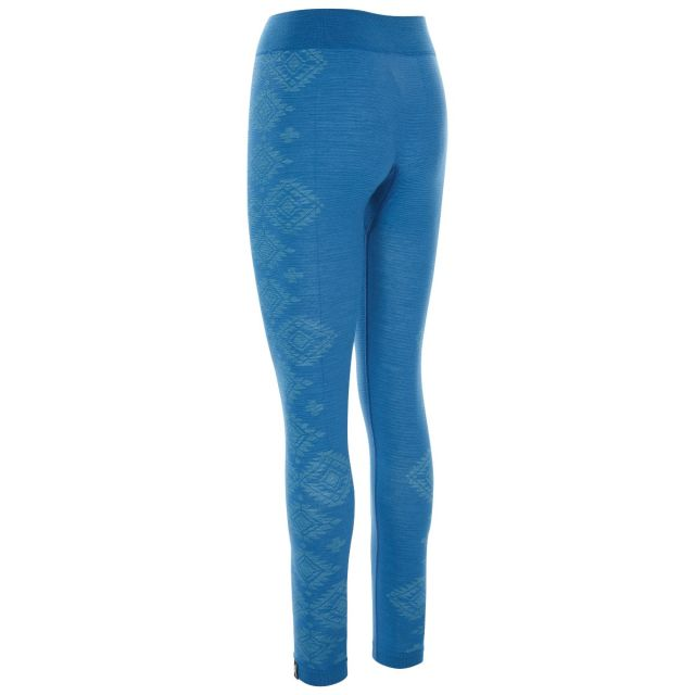 Friga Women's  Base Layer Trousers in Blue