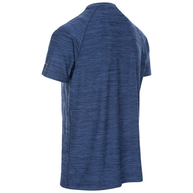 Gaffney Men's Quick Dry Active T-shirt in Navy