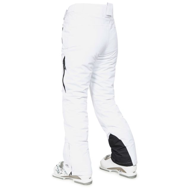 Galaya Women's Waterproof Ski Trousers in White
