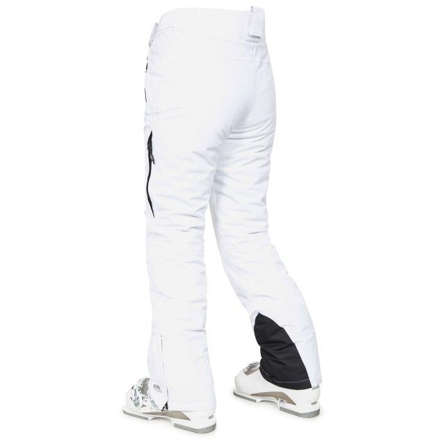 Galaya Women's Waterproof Ski Trousers in White