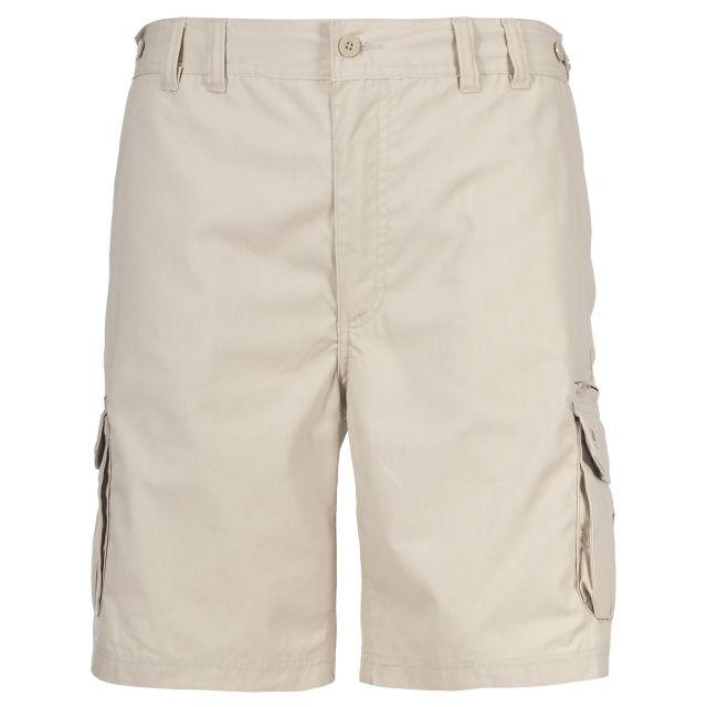 Gally Men's Cargo Shorts in Beige