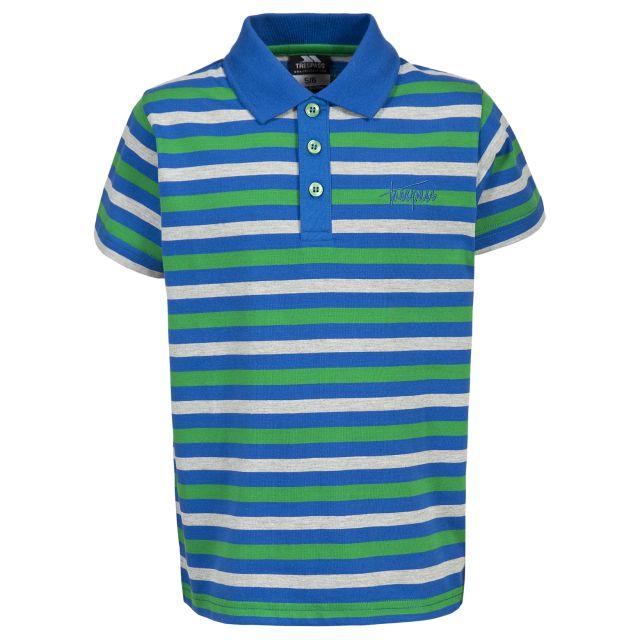 Garth Kids' Casual Striped Polo Top