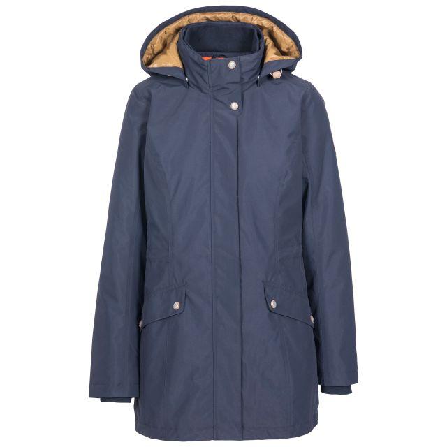 Trespass Womens Waterproof Jacket Padded Generation Navy