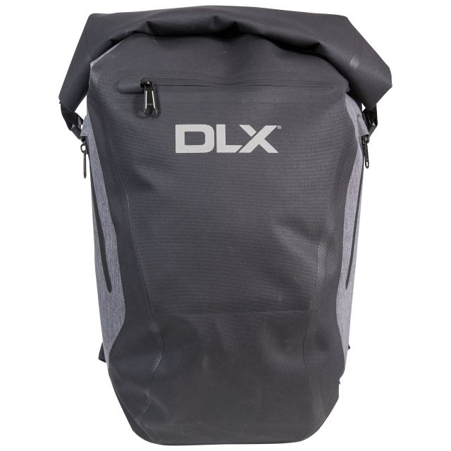 Gentoo DLX 20L Waterproof Roll Top Backpack in Black