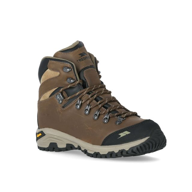 Genuine Women's Vibram Walking Boots in Tan