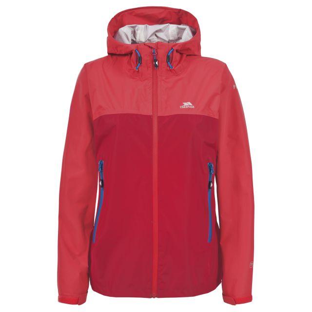 GERWIN Womens Waterproof Jacket in Red