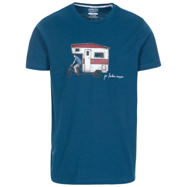 Gibson II Men's Printed Casual T-Shirt - MID