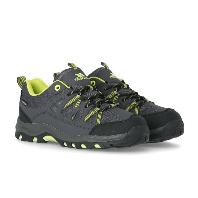 Gillon Kids' Waterproof Walking Shoes in Grey