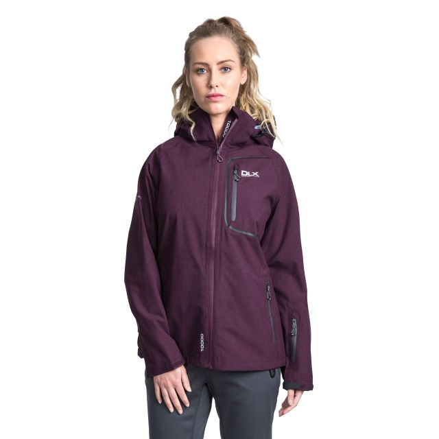 Gita II Women's DLX Softshell Jacket in Purple