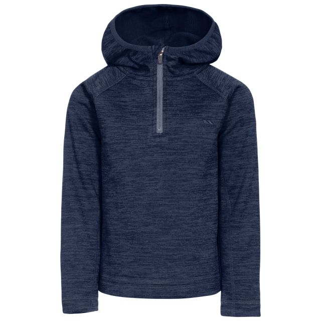 Gladdner Kids' Hooded Fleece in Navy