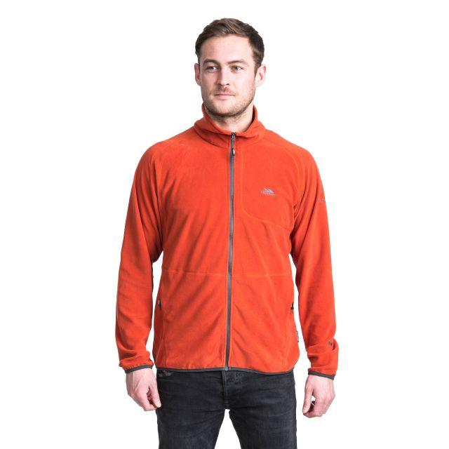 Gladstone Men's Microfleece Jacket in Orange