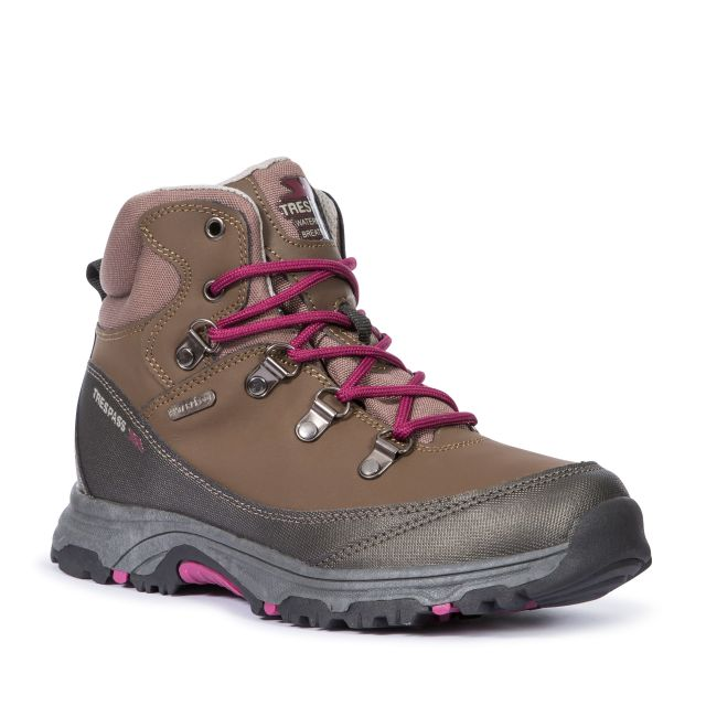 Glebe II Youth Walking Boots in Brown