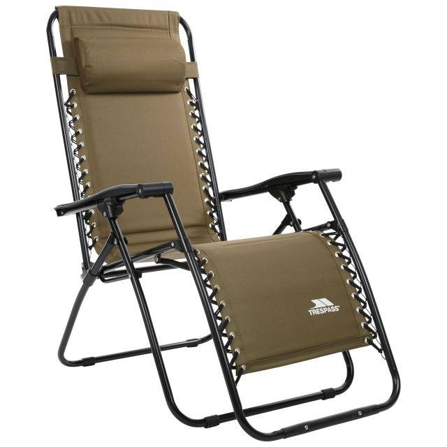 Glentilt Reclining Deck Chair Green
