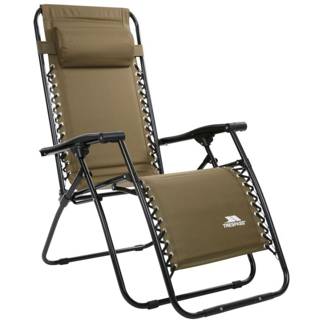 Glentilt Reclining Deck Chair Green