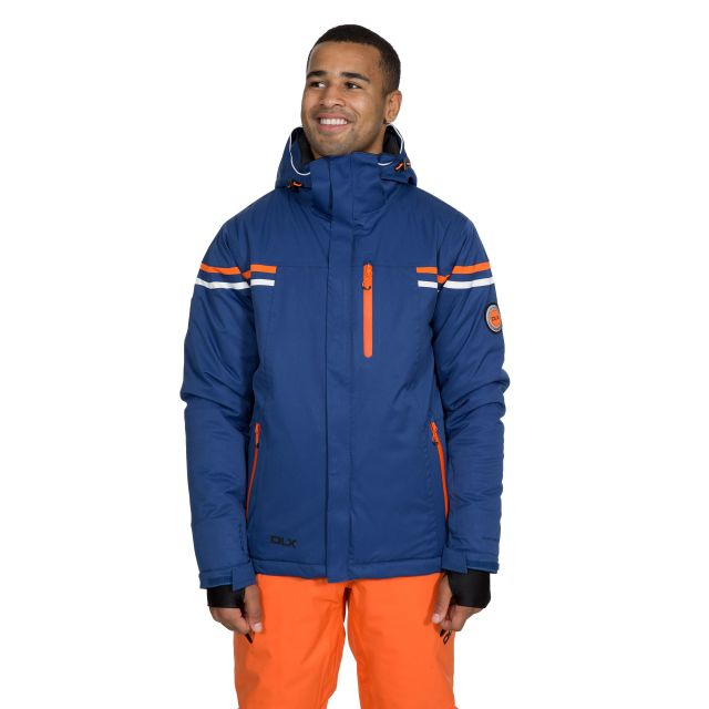Gonzalez Men's DLX Waterproof RECCO Ski Jacket in Navy