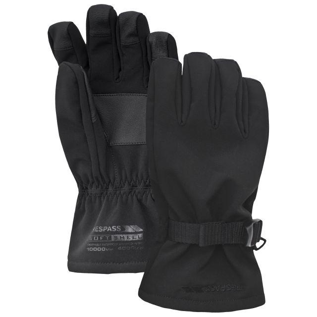 Goten Unisex Softshell Gloves in Black