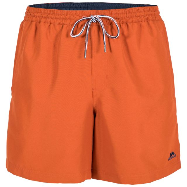 Granvin Men's Swim Shorts in Orange