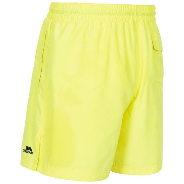 Granvin Men's Swim Shorts in Neon Green