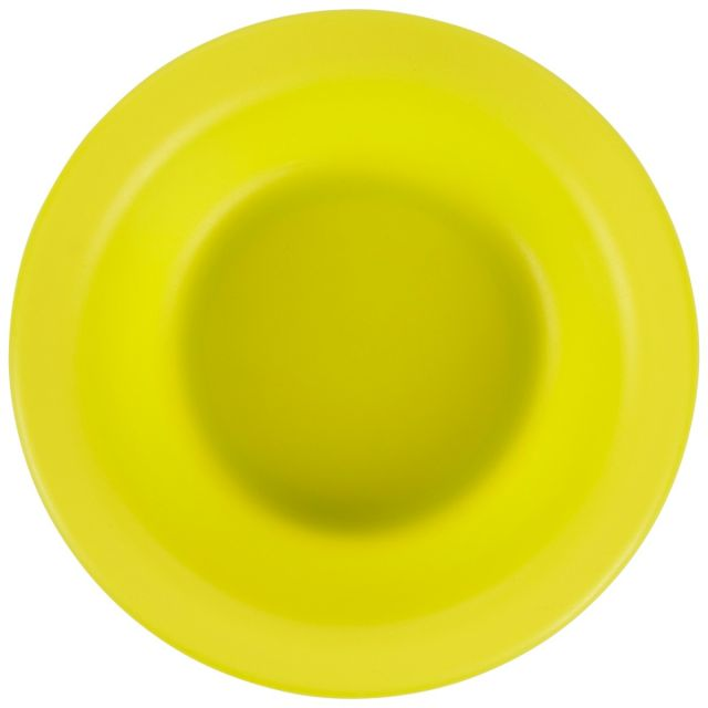Plastic Bowl in Neon Green
