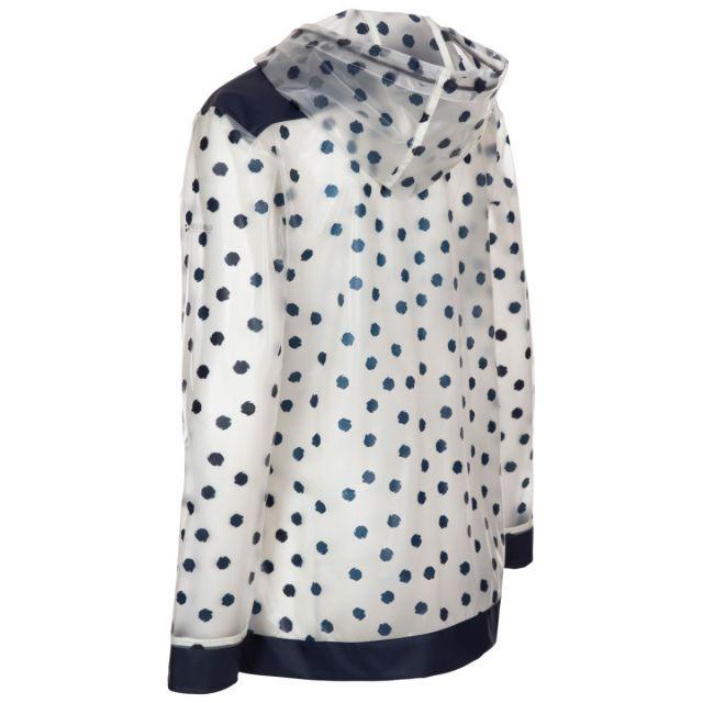 Trespass Women's Waterproof Shell Jacket Gush Navy Dot