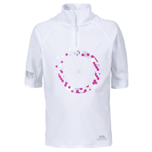 Halley Kids' Rash Vest in White
