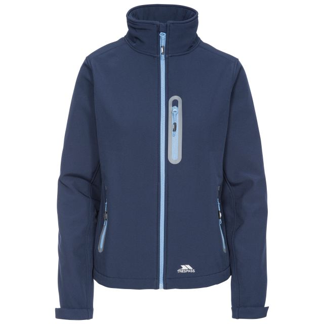 Hallie Women's Lightweight Softshell Jacket in Navy