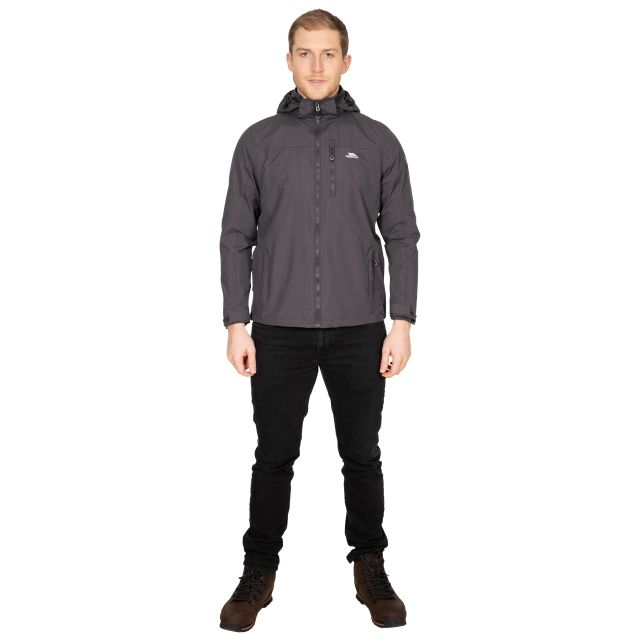 Hamrand Men's Waterproof Jacket in Grey
