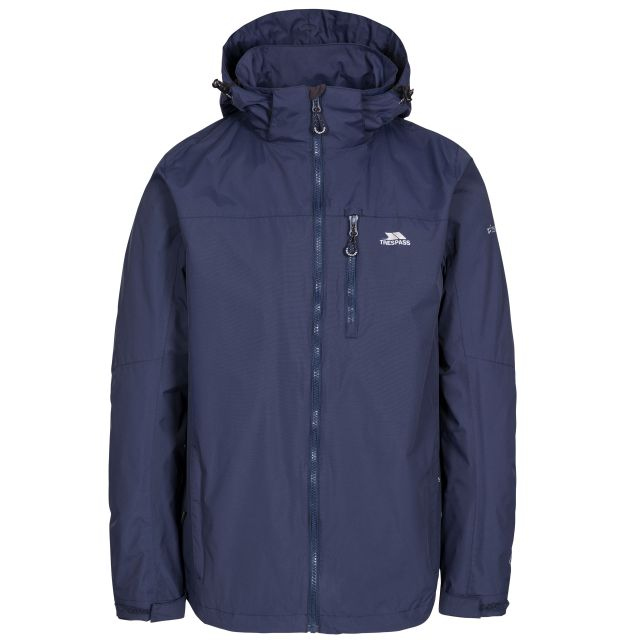 Hamrand Men's Waterproof Jacket in Navy