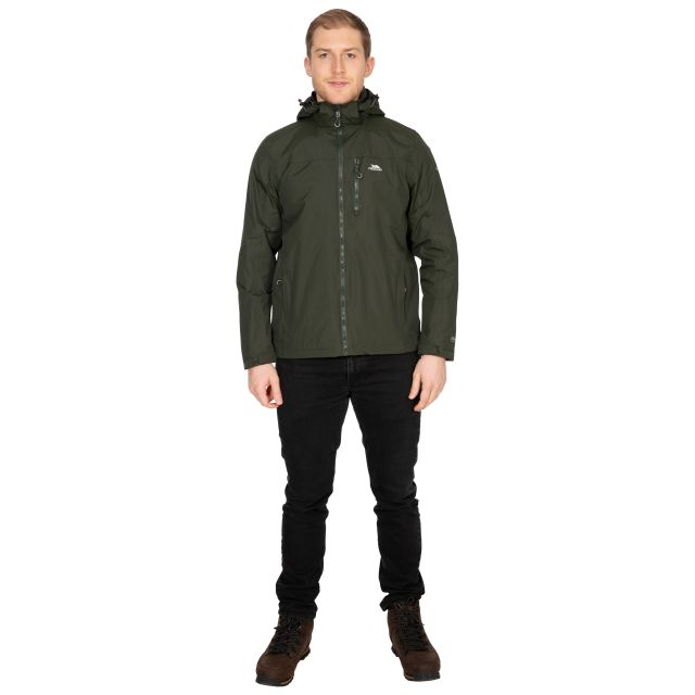 Hamrand Men's Waterproof Jacket in Khaki