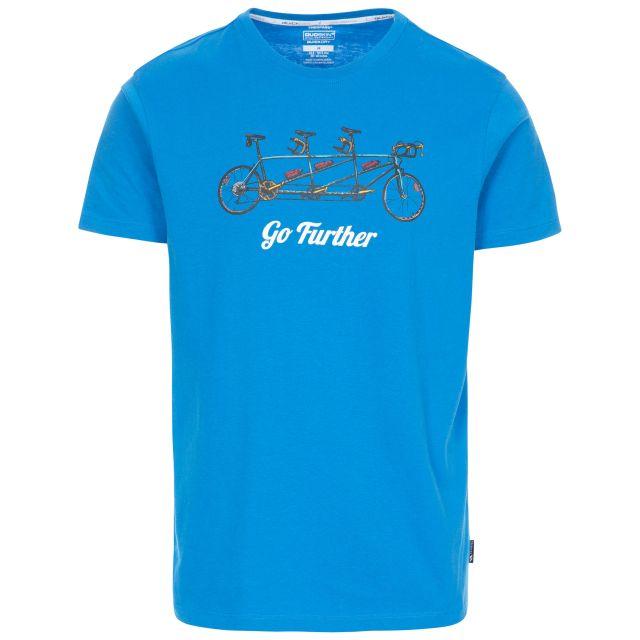 Hanks II Men's Quick Dry Casual T-Shirt - BLU