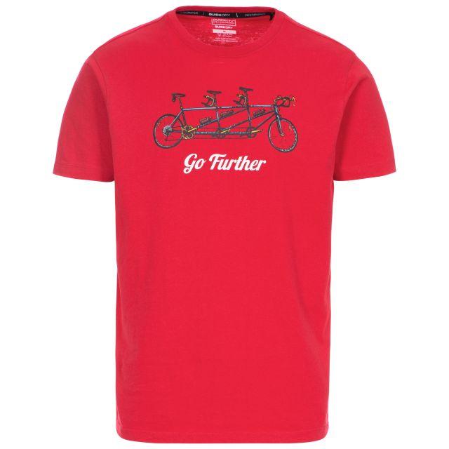 Hanks II Men's Quick Dry Casual T-Shirt - RED