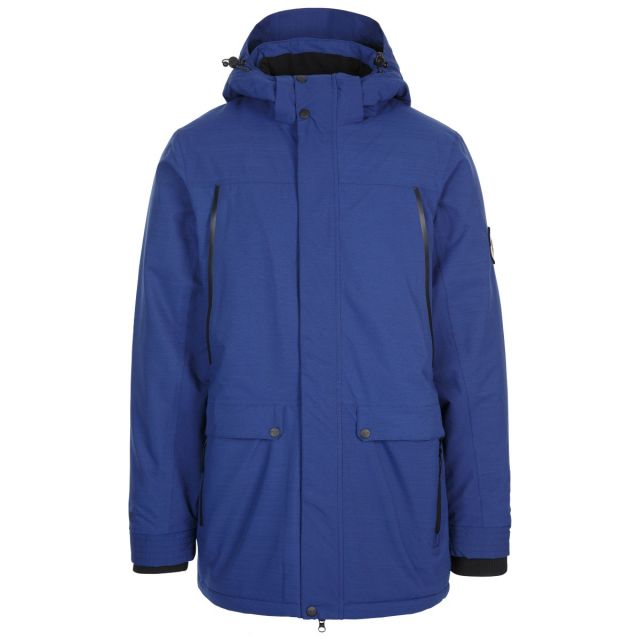 Harris Men's DLX Padded Waterproof Jacket with Sherpa Fleece Lining in Navy