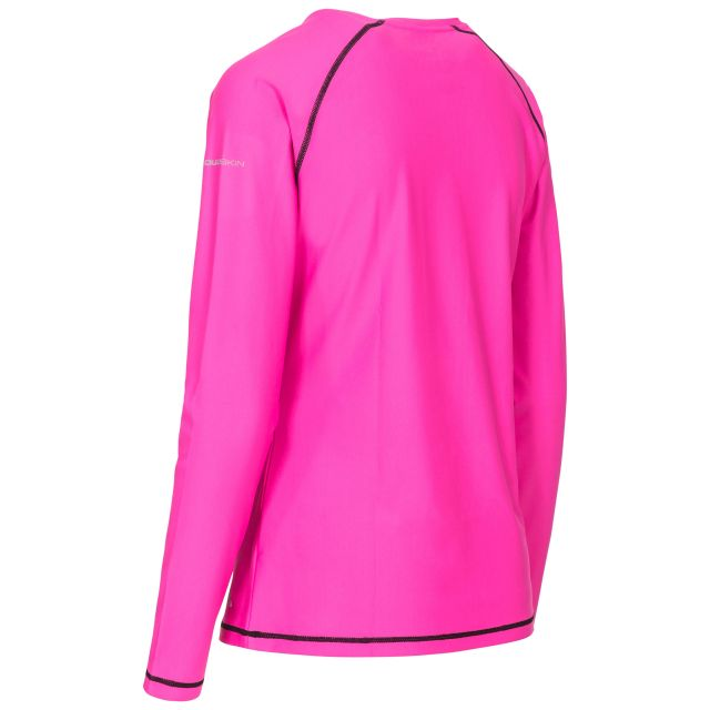 Hasting Women's Quick Dry Long Sleeve T-Shirt in Pink