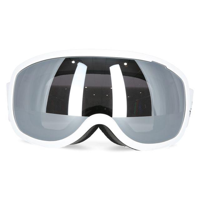 Hawkeye Unisex Ski Goggles in White