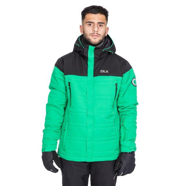 Hayes Men's DLX Waterproof Ski Jacket in Green