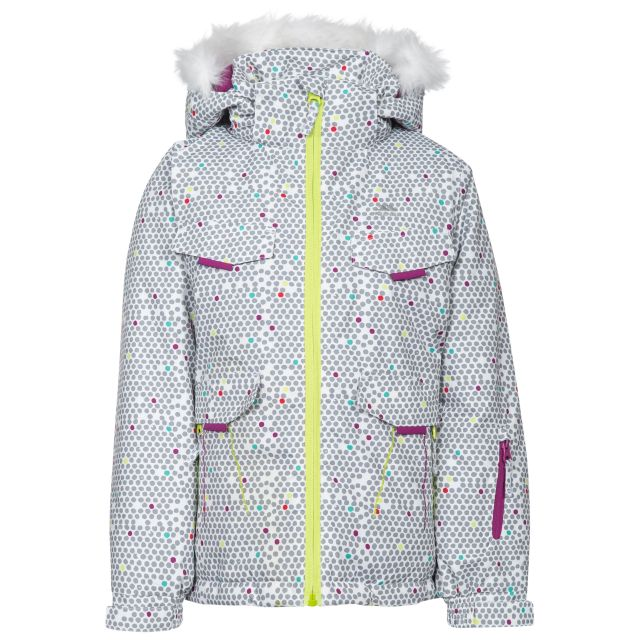 Hickory Kids' Printed Ski Jacket - WHT