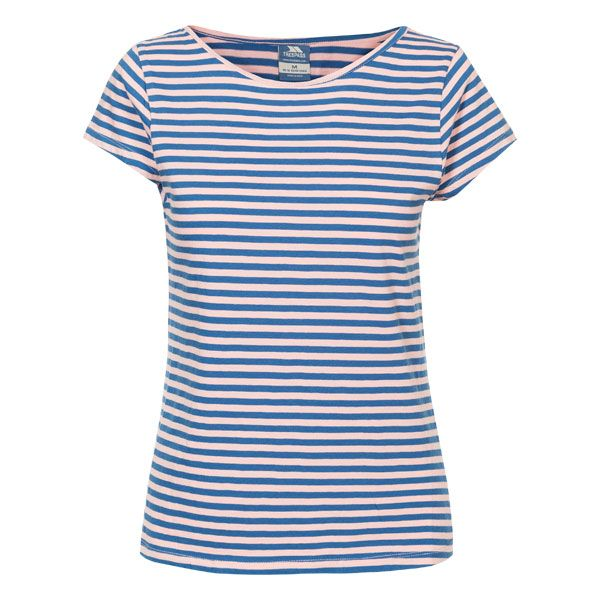 Hilary Women's Short Sleeved T-Shirt in Blue