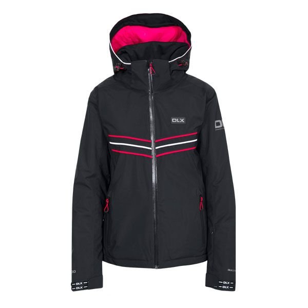 DLX Womens Ski Jacket Hildy in Black