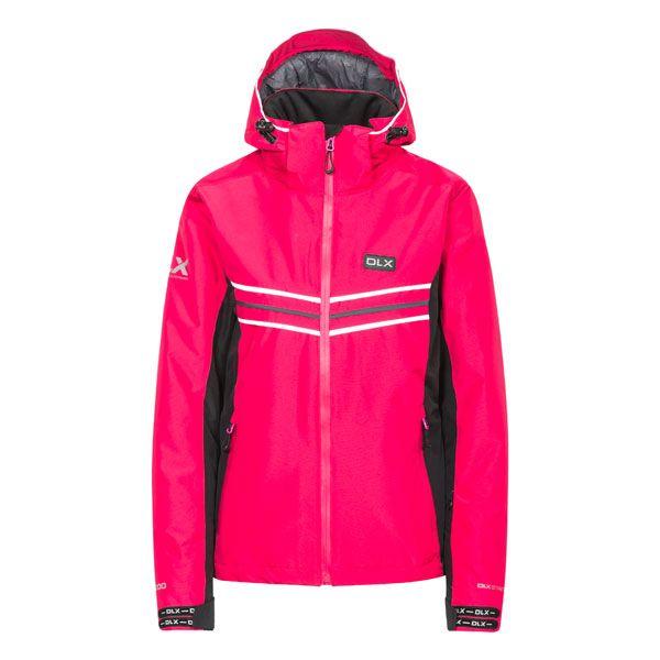 DLX Womens Ski Jacket Hildy in Pink